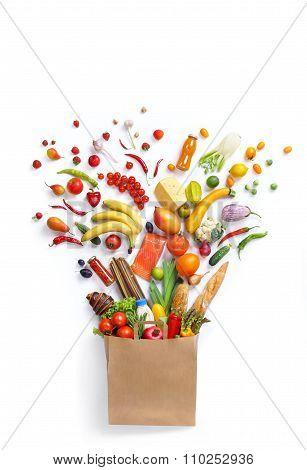 Healthy food in package