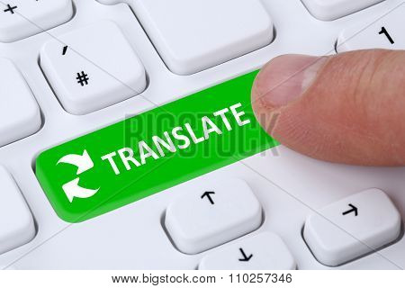 Translate Translation Foreign Language Translator On Internet