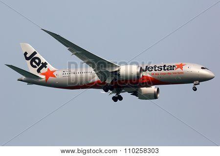 Jetstar Airways Boeing 787 Dreamliner Airplane