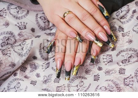 Luxury Festive Nail Art