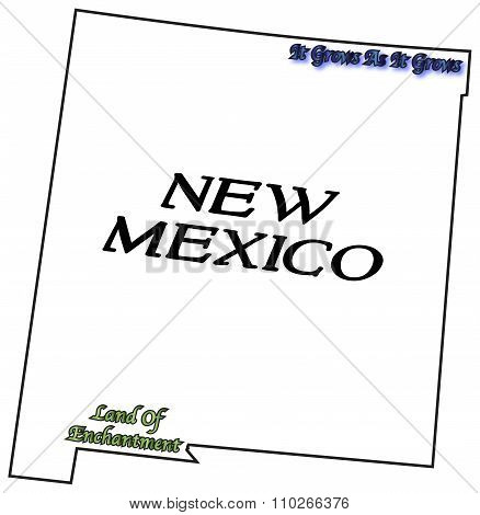 New Mexico State Motto And Slogan