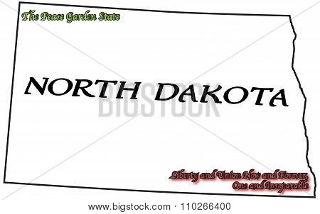 North Dakota State Motto And Slogan