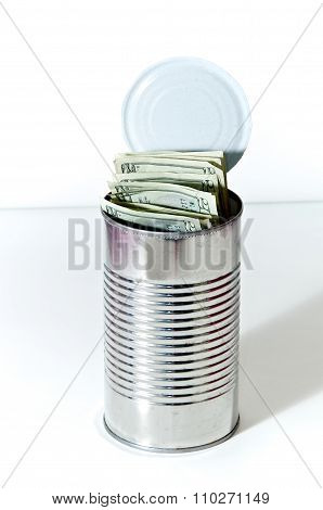 Soup Can Full Of Money