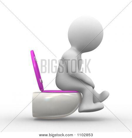 3D Pissing Girl