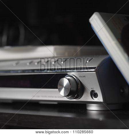 Dvd Player Closeup
