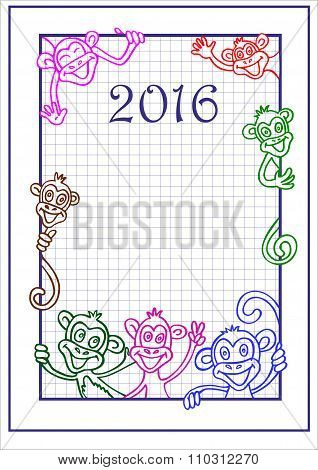 Monkey ?hinese new year 2016