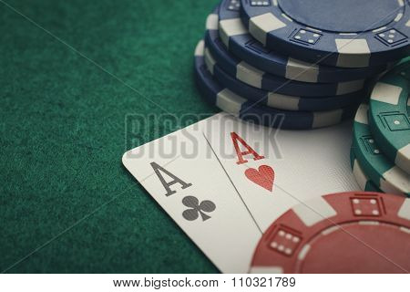 poker two aces