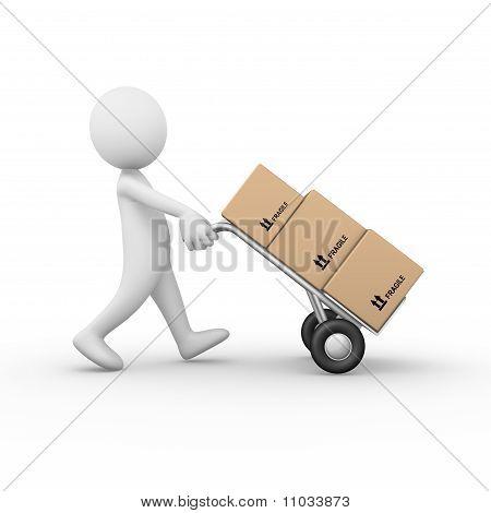 Hand barrow truck