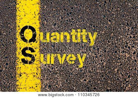 Accounting Business Acronym Qs Quantity Survey