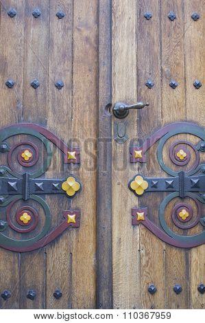 Robust Forged Door.