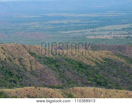 Guimaraes plateau, Brazil