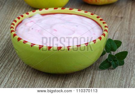 Srawberry Yoghurt