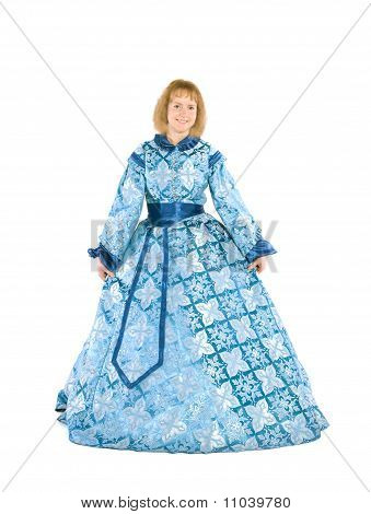 Woman In A Fancydress