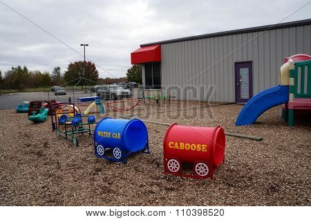 Shelby Scholars Daycare Playground