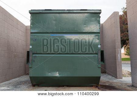 Big Green Dumpster