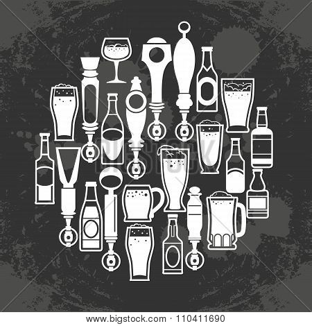 Beer Taps Icons