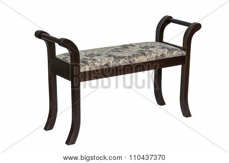 Upholstered Hall Banquette.