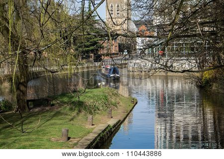View Of River Wey