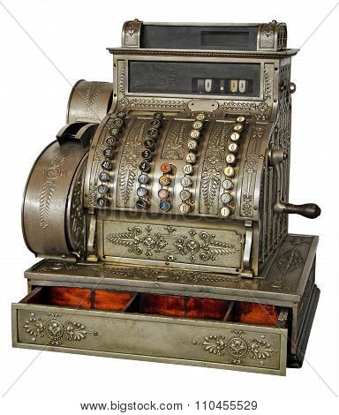 Old Vintage Cash Register