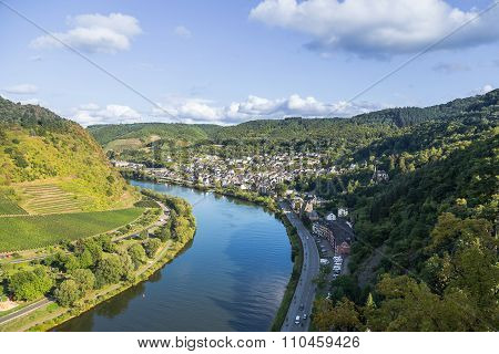 Mosel River Valley . Germany.