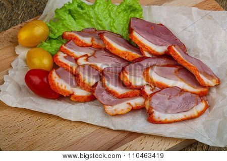 Cliced Duck Breast