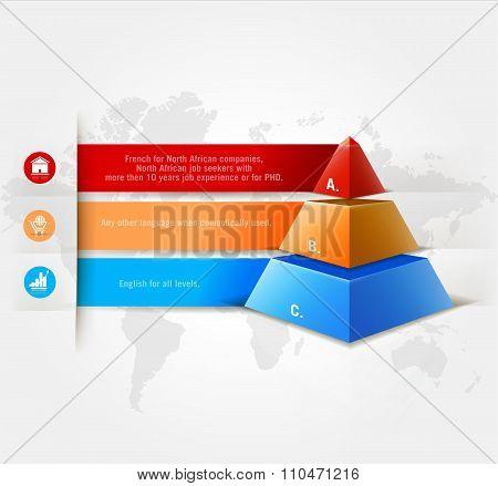 Vector infographics element