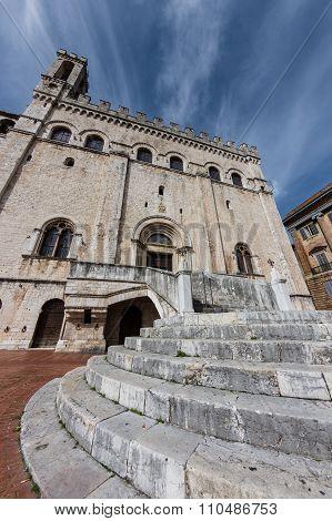 Palazzo Dei Consoli In Gubbio