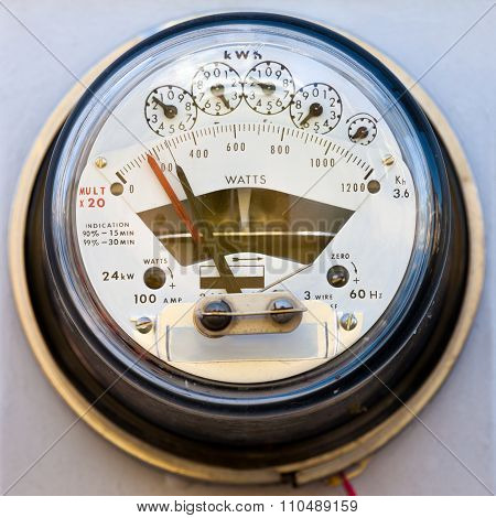 Residential Electric Power Meter