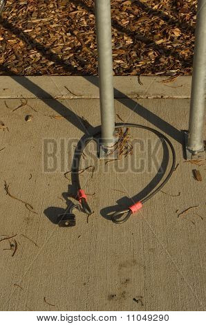Open Bicycle Lock