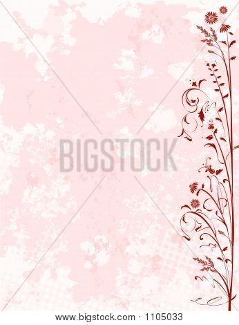 Grunge Background Spring