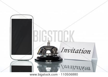 Globalization Website Booking Lodging By Cell Phone, Invitation