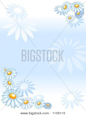 Background Marguerites