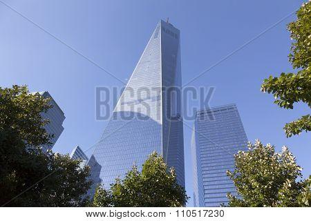 new york city, NY, USA, 11 september 2015: One World Trade Center In New York City