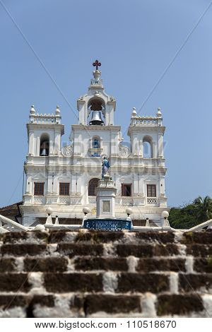 Church of Our Lady of the Immaculate Conception at Panaji Goa, India