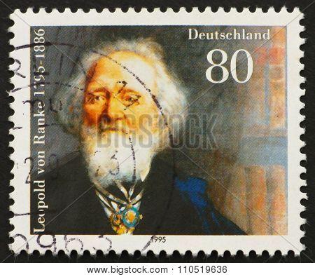 Postage Stamp Germany 1995 Leopold Von Ranke