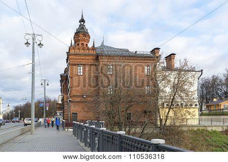 VLADIMIR, RUSSIA -05.11.2015.Building of the former City Duma on  Bolshaya Moskovskaya Street - Hist