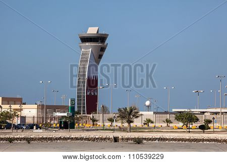 Control Tower Of Bahrain Airport