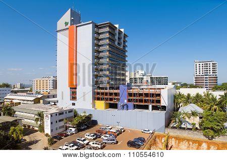 Darwin City Skyline