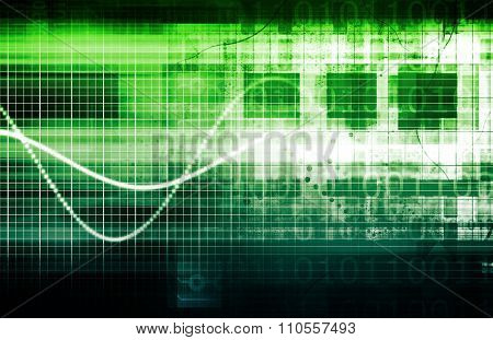 Global Software Company with Technology Data Art