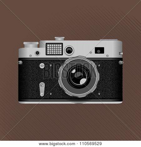 Vintage film camera.