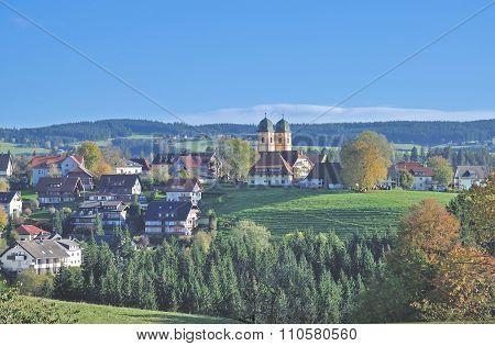 Sankt Maergen,Black Forest,Germany