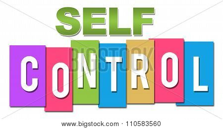 Self Control Professional Colorful