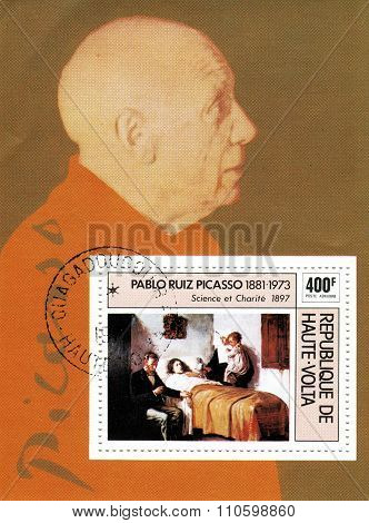 The founder of cubism - Pablo Picasso, Spanish painter