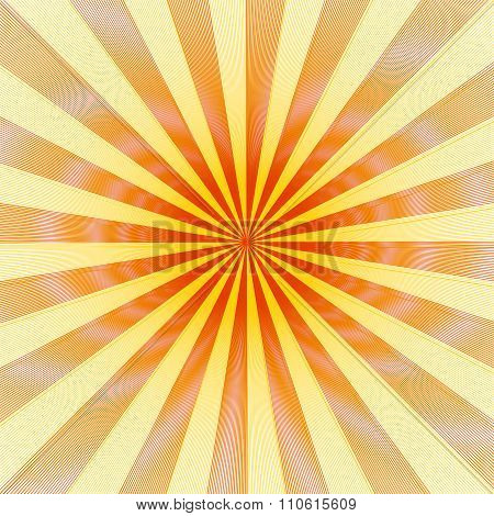 Illusion Line Diffraction Background With Rays Texture