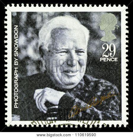 Britain Charlie Chaplin Film Postage Stamp