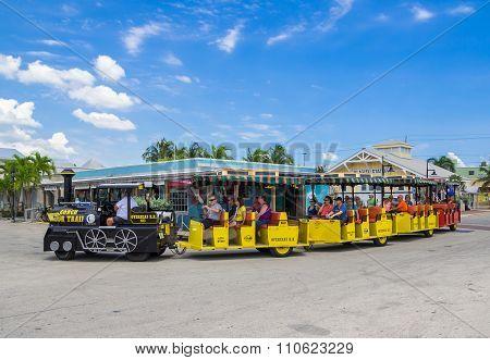 Conch Tour Train, Key West, Florida
