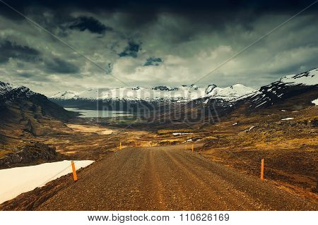 Road Nature Background