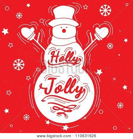 Holly Jolly Quote Posters