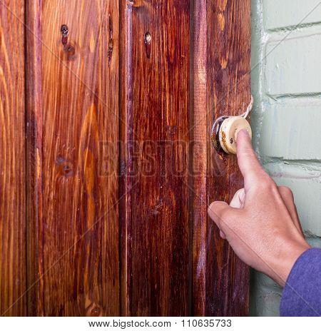 Person Calls Doorbell