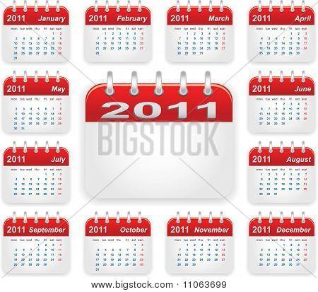 Calendar 2011 Year